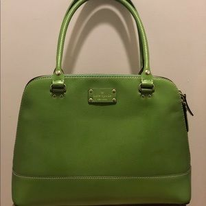 Kate Spade Wellesley Bag in Kelly Green